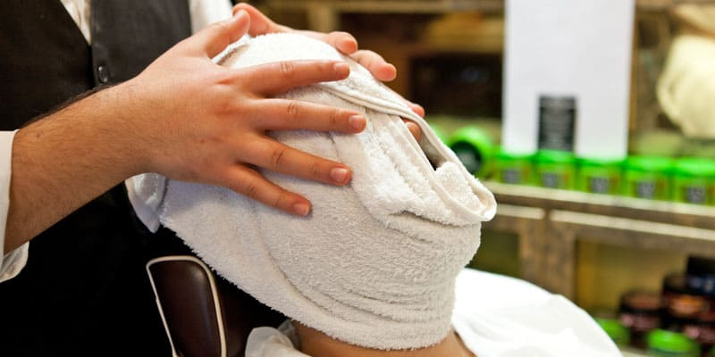 hot-towel-shave-massage
